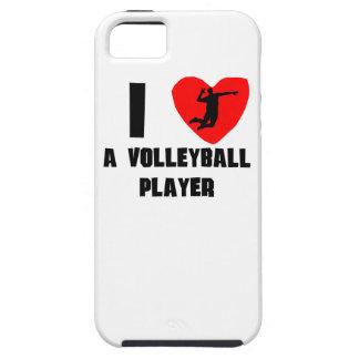 I corazón un jugador de voleibol iPhone 5 cobertura
