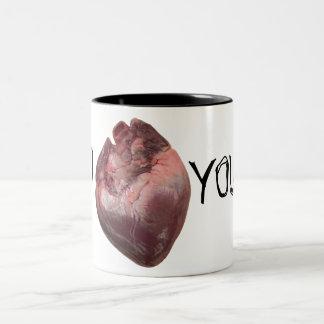 """I """"corazón"""" usted tazas de café"""