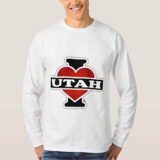 I corazón Utah Playeras