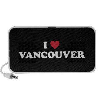 I corazón Vancouver Canadá iPhone Altavoz