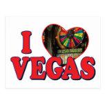 I corazón Vegas Postales