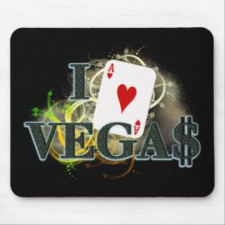 I corazón Vegas Tapetes De Ratones