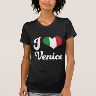 I corazón Venecia Italia (amor) Playera