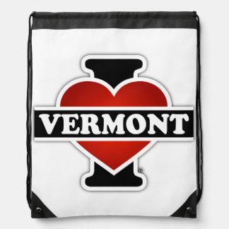 I corazón Vermont Mochila