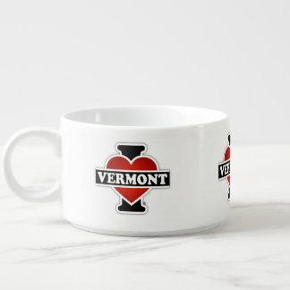 I corazón Vermont Tazón