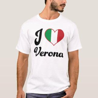 I corazón Verona Italia (amor) Playera
