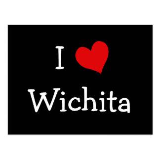 I corazón Wichita Postales