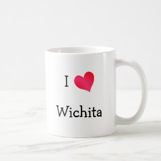 I corazón Wichita Tazas