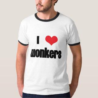 I corazón Wonkers Playera