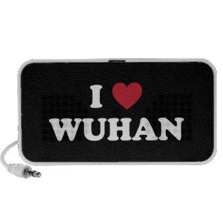 I corazón Wuhan China iPod Altavoz