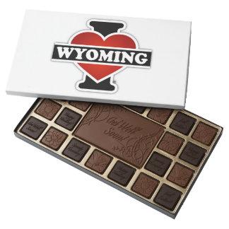 I corazón Wyoming Caja De Bombones Variados Con 45 Piezas