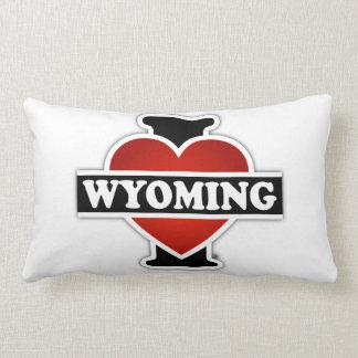 I corazón Wyoming Cojín
