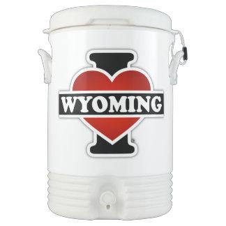 I corazón Wyoming Enfriador De Bebida Igloo