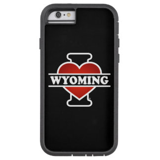 I corazón Wyoming Funda Para iPhone 6 Tough Xtreme
