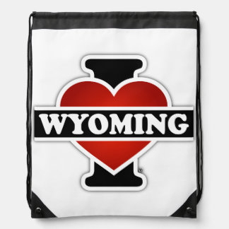 I corazón Wyoming Mochilas