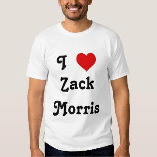 I corazón Zack Morris Remera