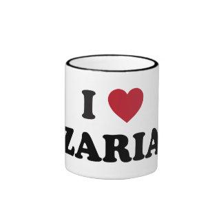 I corazón Zaria Nigeria Tazas De Café