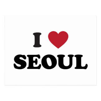 I Corea del Sur de Seul del corazón Postal