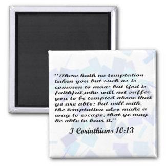 I Corinthians 10:13 magnet