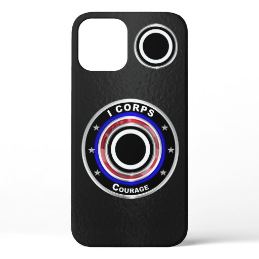 "I Corps ""America's Corps"" Customized iPhone 12 Case"