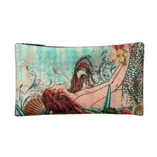 I Cosmetic Bag Mermaid by the Seashore