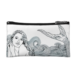 I Cosmetic Bag - Small Two Mermaids