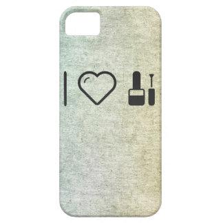 I cosméticos naturales del corazón iPhone 5 fundas