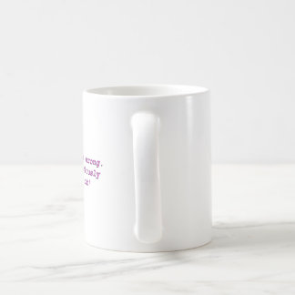 I could be wrong.  But, I seriously doubt it! Coffee Mug