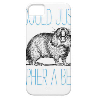 I Could Just Gopher a Beer iPhone SE/5/5s Case