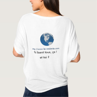 I count on you to save planet! T-Shirt