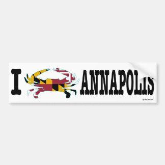 I Crab Annapolis Bumper Sticker