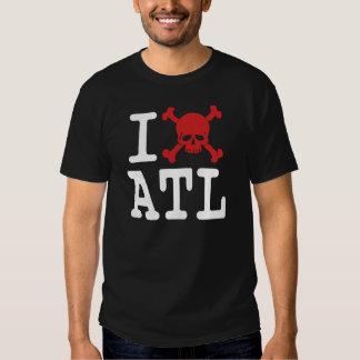 "I ""cráneo"" ATL Remeras"