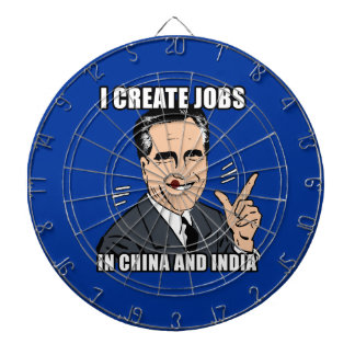 I create jobs in china and india dart boards