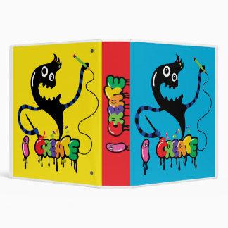 i create monster cool urban binder