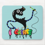 i create monster cool urban mouse pad sage
