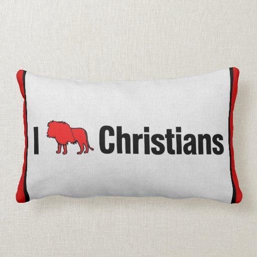 I cristianos del león almohadas