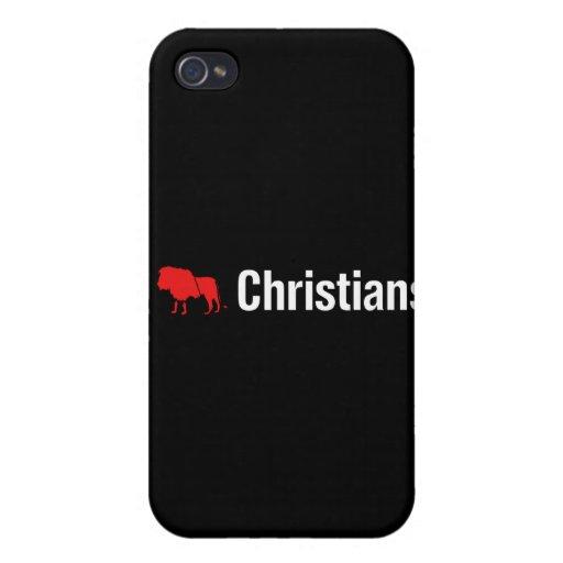 I cristianos del león iPhone 4 carcasas