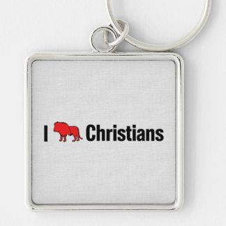 I cristianos del león llaveros personalizados