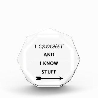 I Crochet And I know Stuff Award