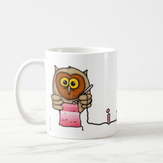 i crochet classic white coffee mug