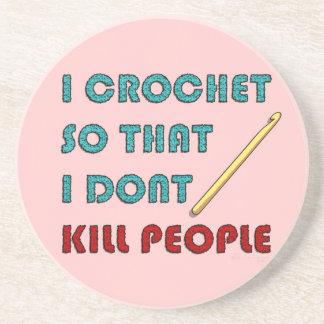 I Crochet, Beverage Coaster