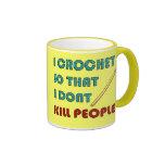 I Crochet, Mugs