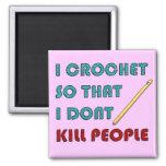 I Crochet, Refrigerator Magnet