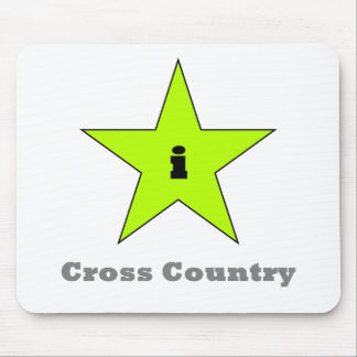 i Cross Country Mouse Pad
