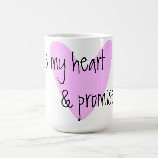 i cross my heart & promise too mug