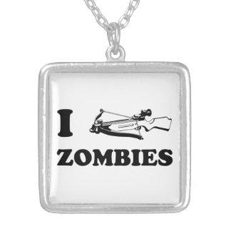 I Crossbow Zombies Custom Necklace
