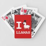 I cubierta de las llamas de la llama de tarjetas baraja cartas de poker