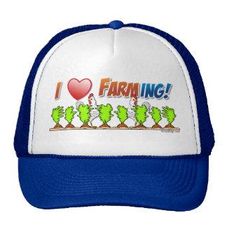 I cultivo del corazón gorras de camionero