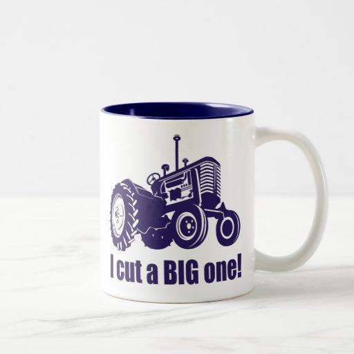 I Cut A Big One Landscaping Coffee Mug