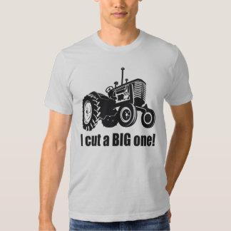 I cut a big one shirt